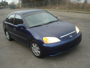 2002 HONDA CIVIC ***DRIVES GREAT! MUST SEE!