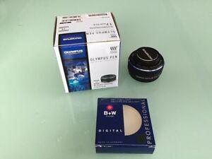 Olympus 17mm f2.8 micro four thirds 4/3 lens
