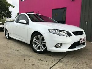 2009 Ford Falcon FG XR6 Super Cab White 5 Speed Sports Automatic Cab Chassis