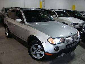 """2007 BMW X3 3.0si """"""""LEATHER & PANORAMIC ROOF""""""""PREMIUM PACK!"""