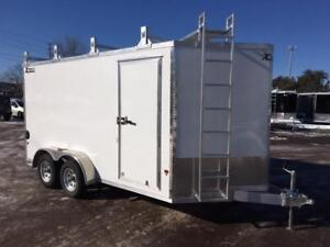 NEW 2018 XPRESS 7' x 14' ULTIMATE CONTRACTOR CARGO TRAILER