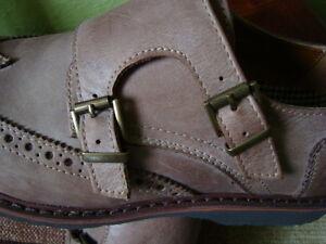 MEN'S GBX LEATHER SHOES SIZE 9.5/42 1/2 ''NEW'' West Island Greater Montréal image 9