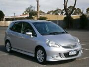 2006 Honda Jazz MY06 GLi Silver Continuous Variable Hatchback Maidstone Maribyrnong Area Preview