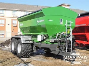 2016 Agri-Spread AS170T Dry Spreader - 17 Ton, Factory Scale