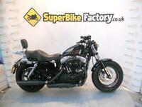 2012 12 HARLEY-DAVIDSON SPORTSTER XL 1200 X FORTY EIGHT 12