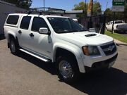 2011 Holden Colorado RC MY11 LX (4x4) White 4 Speed Automatic Crew Cab Pickup West Croydon Charles Sturt Area Preview