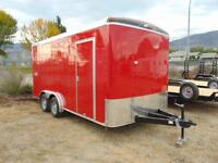 2016 Mirage 8.5X16 Cargo Contractor Trailer w. Barn Doors