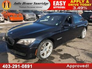 2012 BMW 750I M PACKAGE NAVIGATION 360 VIEW BACKUP CAMERA