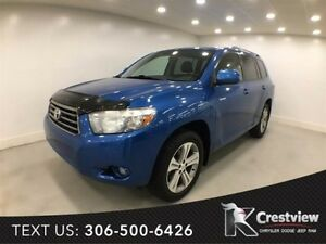 2009 Toyota Highlander V6 Sport | Leather | Sunroof
