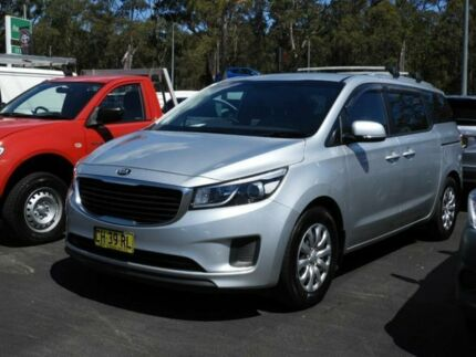2016 Kia Carnival YP MY16 Update S Silver 6 Speed Automatic Wagon