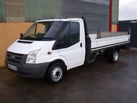 Ford Transit 13.6ft Dropside with tail lift