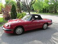 1986 Alfa Romeo Spider Quadrifogilio