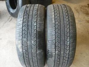Two 265-60-20 tires $120.00