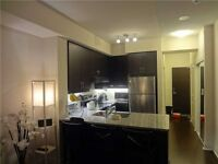 1+den condo w/ unobstructed view at downtown Markham