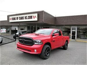 "2017 Ram 1500 SPORT ""NIGHT EDITION"" - 5.7L HEMI"