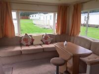 *Static Caravan for sale*12 Month Season*Sea-views & Direct Beach Access*Eyemouth,Nr Berwick,Borders
