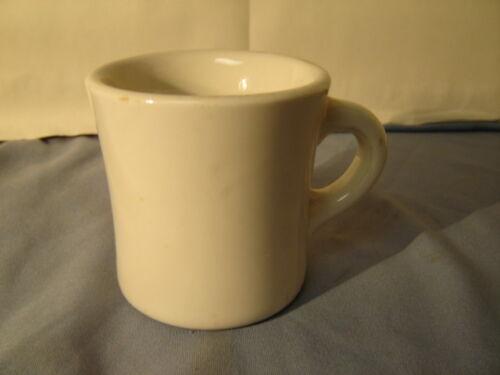 Vintage Shenango White Thick & Heavy Coffee Mug Cup