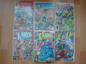 Collector comic books  12 X-Men comics for $ 10.00