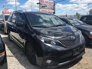 2012 Toyota Sienna SE|LEATHER|SUNROOF|8 PASSENGERS|