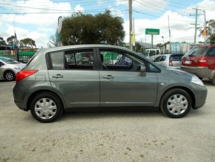 2007 Nissan Tiida C11 MY07 ST Grey 4 Speed Automatic Hatchback Bayswater North Maroondah Area Preview