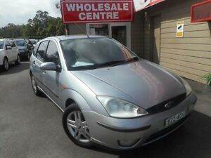 2002 Ford Focus LR CL Silver 5 Speed Manual Hatchback Edgeworth Lake Macquarie Area Preview