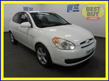 2006 Hyundai Accent MC FX Limited Edition White 4 Speed Automatic Hatchback Blair Athol Campbelltown Area Preview