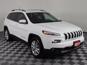 2015 Jeep Cherokee Limited/Navigation/Wireless Charging/Remote S