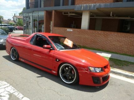 2006 Holden Special Vehicles Maloo Z Series MY06 R8 Red 4 Speed Automatic Utility Merrylands Parramatta Area Preview