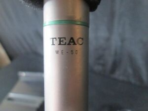 Teac ME-50 Electret Condenser Microphone (Very Rare)