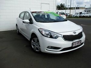 2015 Kia Cerato YD MY15 S White 6 Speed Sports Automatic Hatchback Toowoomba Toowoomba City Preview