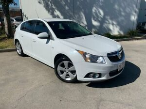 2014 Holden Cruze JH Series II Equipe Hatchback 5dr Spts Auto 6sp 1.4T [MY14] White Sports Automatic Oxley Park Penrith Area Preview