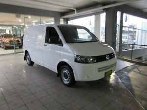 2013 Volkswagen Transporter T5 MY13 TDI 250 SWB Low Candy White 5 Speed Manual Van Thornleigh Hornsby Area Preview