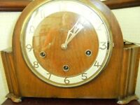 Smiths mantle clock, about 1930's, Westminster chimes. £95.