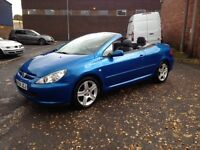 2004 PEUGEOT 307CC - CONVERTIBLE - LOOKS FANTASTIC!