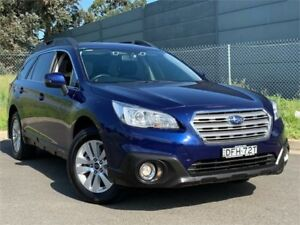 2016 Subaru Outback B6A MY16 2.0D CVT AWD Blue 7 Speed Constant Variable Wagon Blacktown Blacktown Area Preview