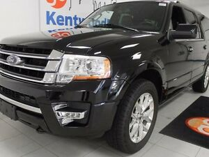 2017 Ford Expedition MAX Limited MAX 3.5L V6 ecoboost, leather,