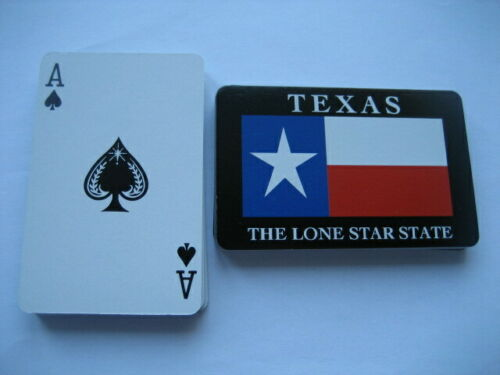 Deck Poker. Texas The Lone Star State