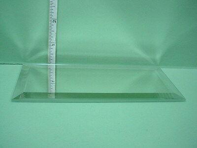 "Dollhouse Miniature Rectangular Display Mirror 3"" x  6""  Vem"