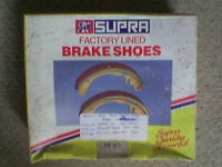 Ford rear brake shoes to fit Ford Escort .