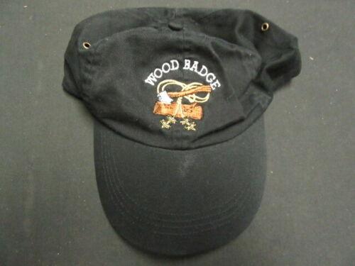 Wood Badge Hat Adjustable      D2