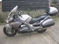 HONDA ST1300 A ABS PAN EUROPEAN TOURING MOTORCYCLE IN ORIGINAL SILVER-2003 MODEL- MOTed