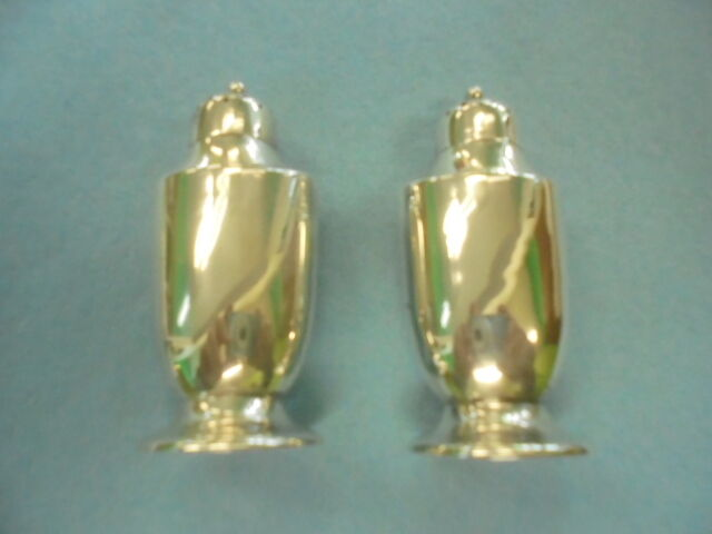 Tiffany Sterling silver salt and pepper shakers Vintage!!!