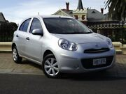 2014 Nissan Micra K13 MY13 ST Silver 4 Speed Automatic Hatchback Medindie Gardens Prospect Area Preview