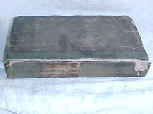 Old Georgian Medical Book Dated 1828.
