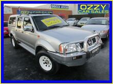 2006 Nissan Navara D22 ST-R (4x4) Grey 5 Speed Manual Dual Cab Pick-up Minto Campbelltown Area Preview