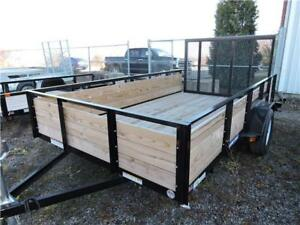 Wooden high side 5X10 Trailer