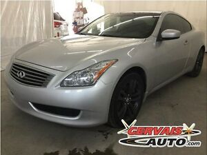 Infiniti G37X Coupe Premium Cuir Toit Ouvrant MAGS 2010