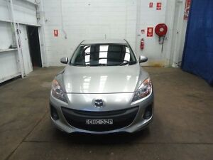 2012 Mazda 3 BL 11 Upgrade Diesel Grey 6 Speed Manual Hatchback Cardiff Lake Macquarie Area Preview