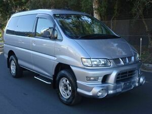 2005 Mitsubishi Delica High roof 8seat Active Field Silver 4 Speed Automatic Wagon Taren Point Sutherland Area Preview
