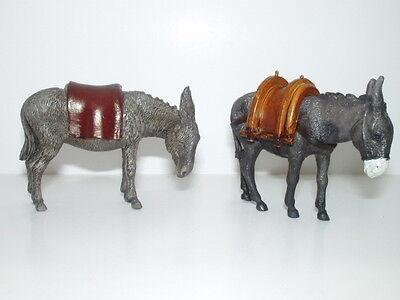 Mule Donkey Nativity Scene Animals Figurines Landi Presepio Pesebre Burros Mulas - Nativity Animals